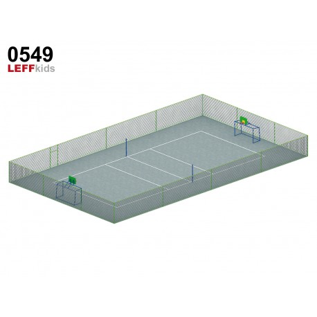 Комплексная спортивная площадка